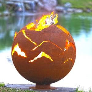 """Alpenglow 37"""" Fire Pit Sphere"""