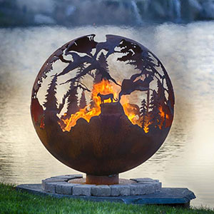 High Mountain Fire Pit