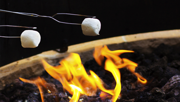 Marshmallows Roasting