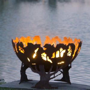 "Forest Fire 37"" Fire Pit Bowl"