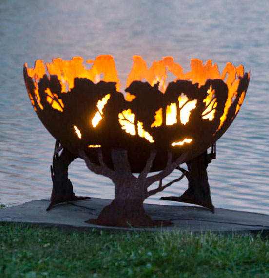 Forest Fire Firebowl Fire Pit The Fire Pit Gallery