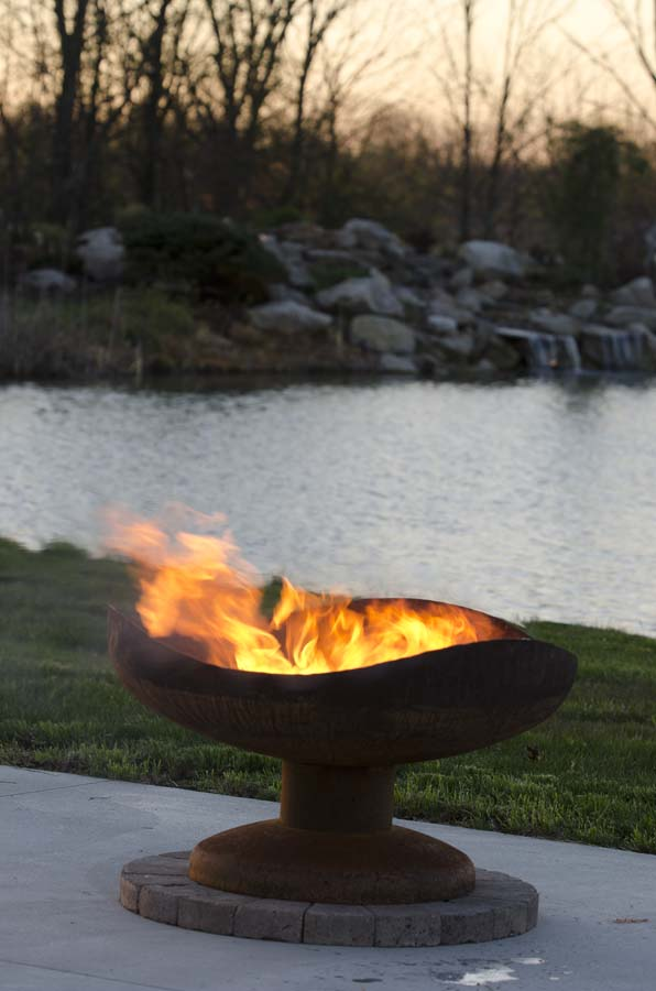 36 fire pit wood burning sand dune 36 firebowl the fire pit gallery