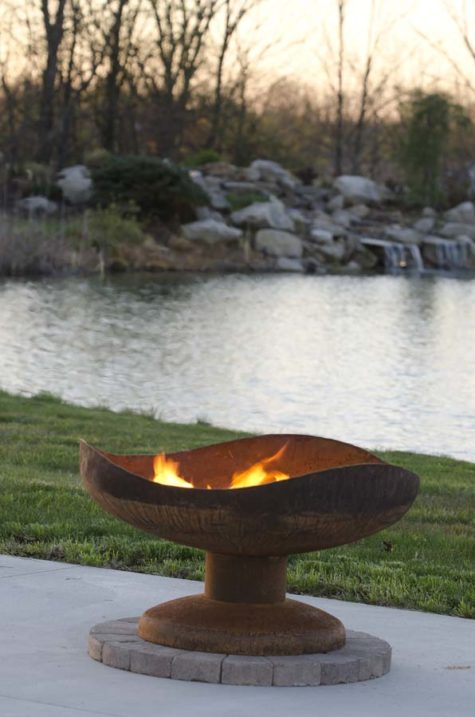 "Sand Dune 36"" Fire Pit Bowl"