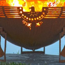 "Freedom Fire 37"" Fire Pit Bowl"