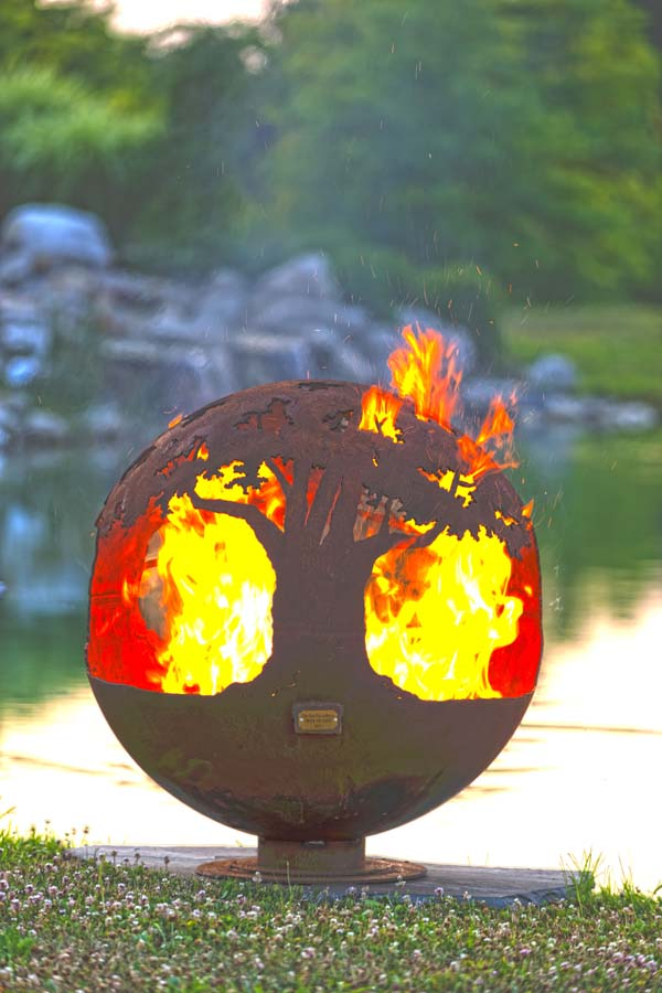 Tree Of Life Fire Pit Sphere The Fire Pit Gallery
