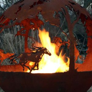 """Wildfire Fire Pit Sphere 37"""""""