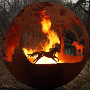 """Wildfire 37"""" Fire Pit Sphere"""