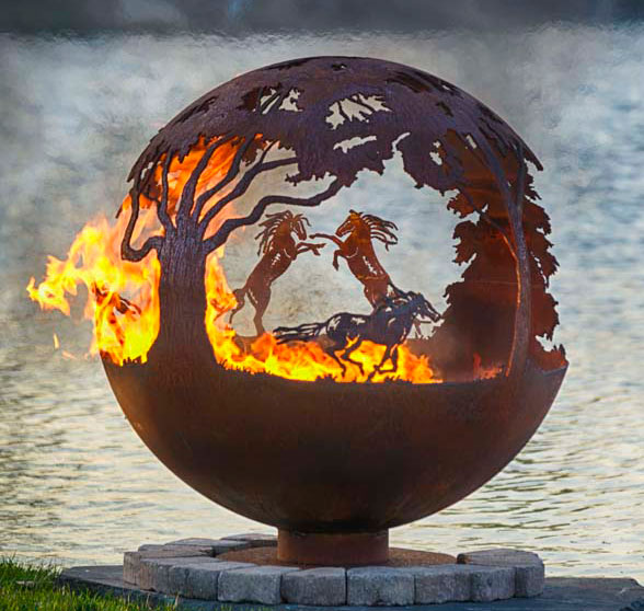 Fire Pit Sphere Wildfire The Fire Pit Gallery