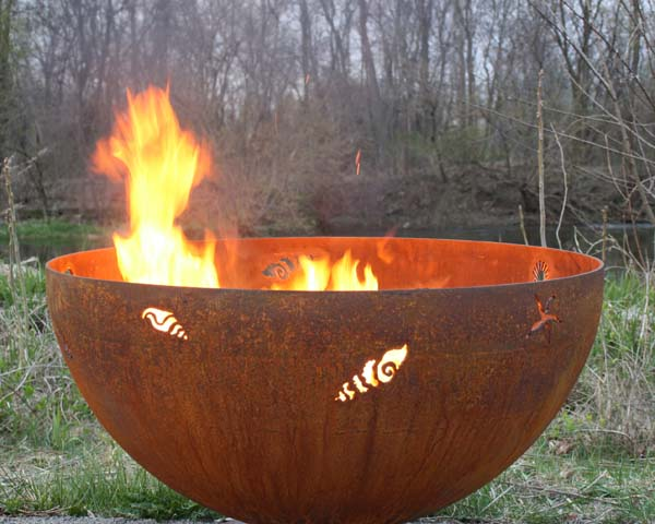 A Walk On The Beach Firebowl The Fire Pit Gallery