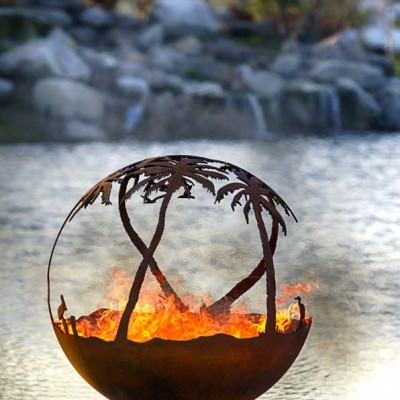 7010023 Paradise Palm Tree Fire Pit 43