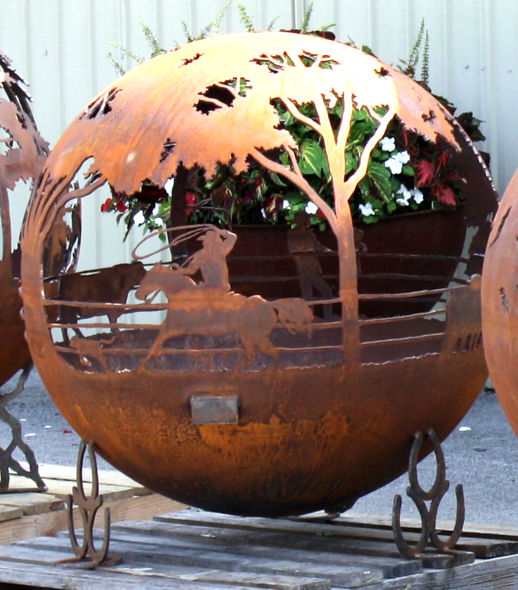 Fire Pit Sphere Round Up The Fire Pit Gallery The