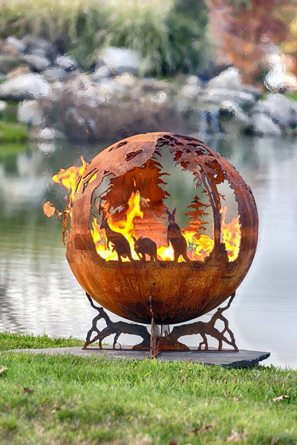 Australia Fire Pit Sphere Down Under The Fire Pit Gallery