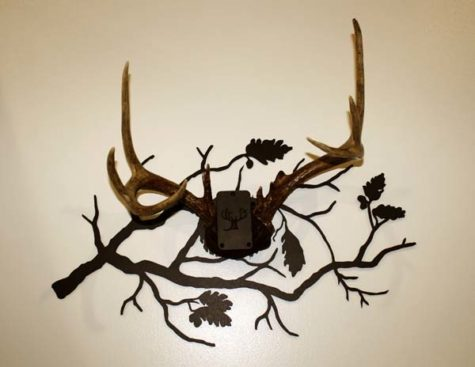 Oak Branch Antler Mount Kit 4