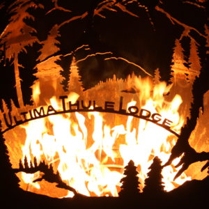 Ultima Thule Lodge - Custom Design Fire Pit
