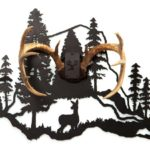 Mountain and Doe Antler Mount Kit