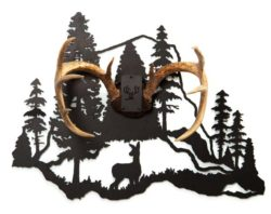Antler Mount Kit Mountain And Doe The Fire Pit Gallery