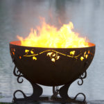 """Ivy Garden Fire Pit 1-37"""" Firebowl 1"""