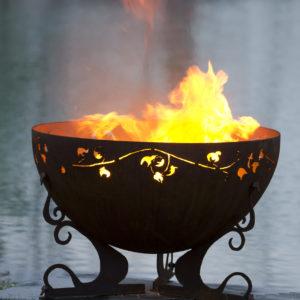 Ivy Garden Fire Pit 4