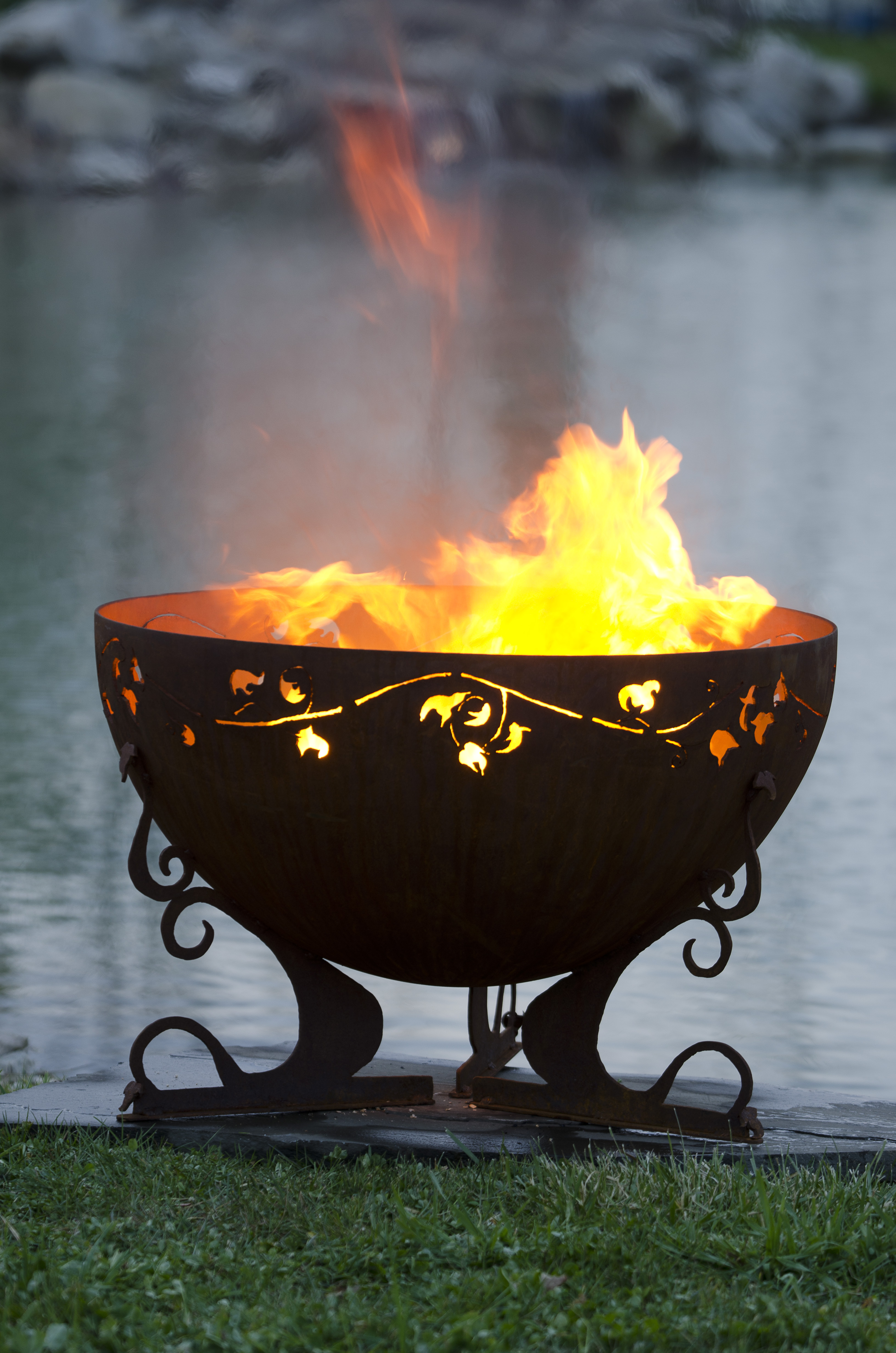Ivy Garden Firebowl 37 Quot Fire Pit The Fire Pit Gallery