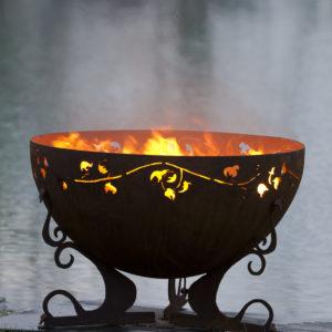 """Ivy Garden Fire Pit 3- 37"""" Firebowl"""