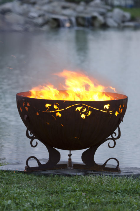 """Ivy Garden Fire Pit 5 - 37"""" Firebowl"""