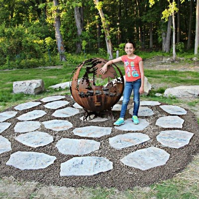 Up North Fire Pit Size