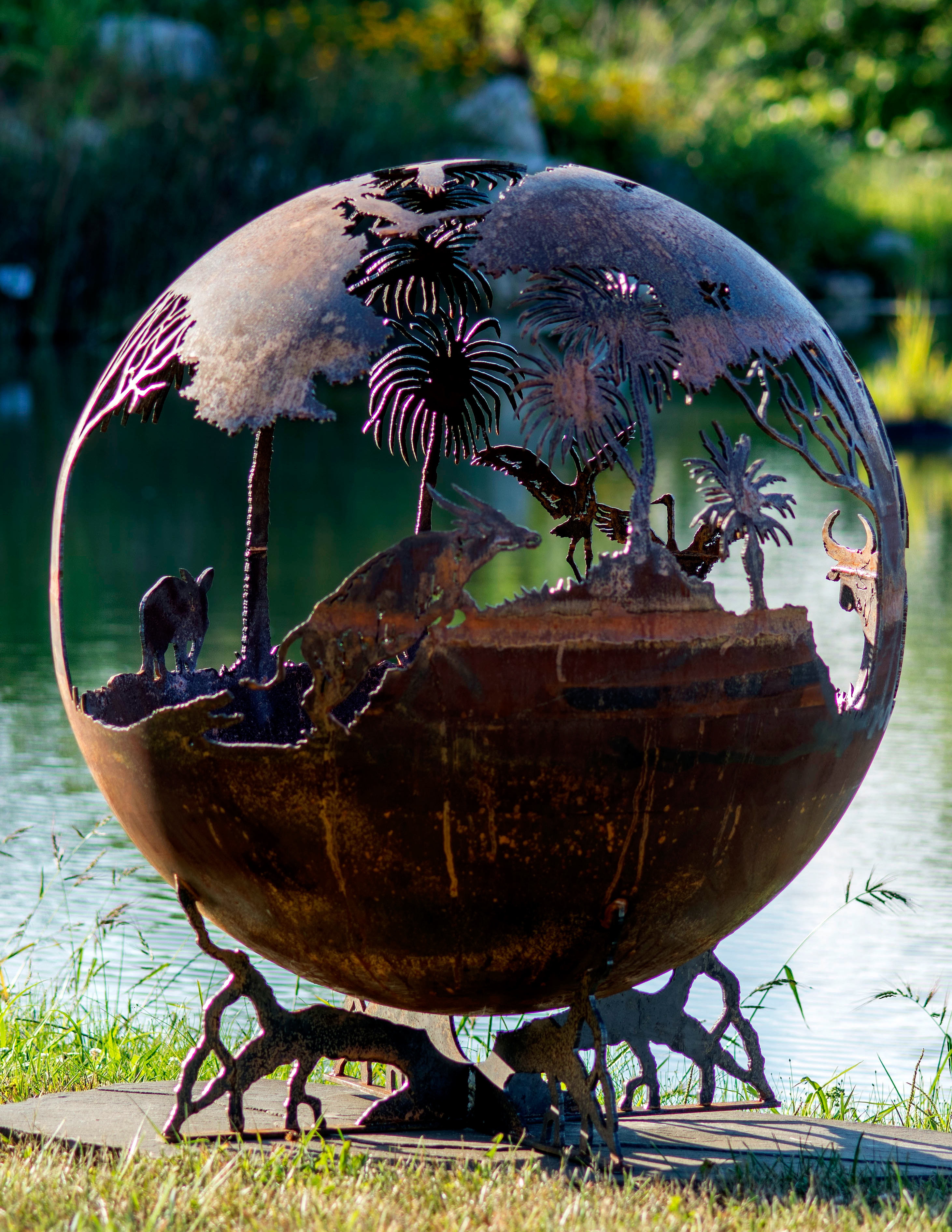 Outback Australia Fire Pit Sphere The Fire Pit Gallery