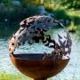 Wings-Butterfly fire pit sphere
