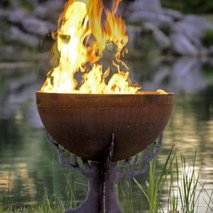 Druids Dream Firebowl Tree fire pit