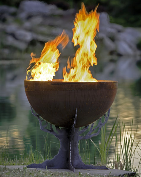 Druids Dream firebowl fire pit 2