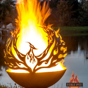 Phoenix Riing Fire Pit Sphere 03 - The Fire Pit Gallery
