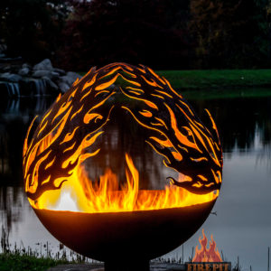 Phoenix Riing Fire Pit Sphere 04 - The Fire Pit Gallery
