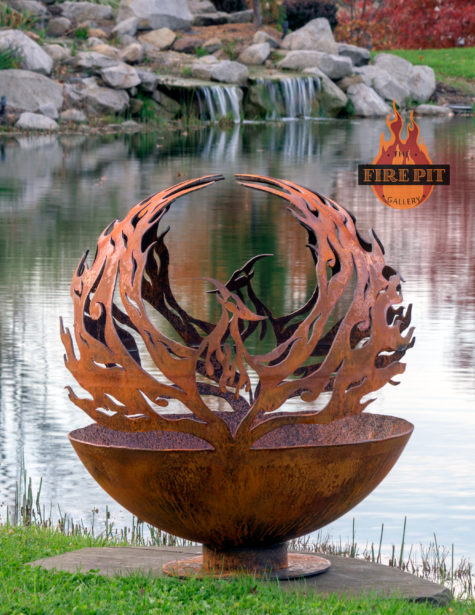 Phoenix Riing Fire Pit Sphere 06 - The Fire Pit Gallery