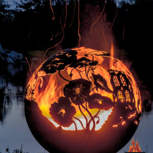 Lest We Forget fire pit sphere 05- The Fire Pit Gallery