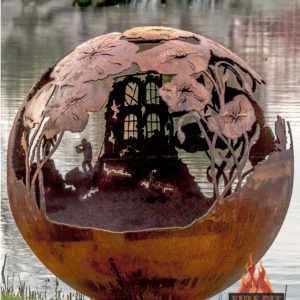 Lest We Forget fire pit sphere 11 - The Fire Pit Gallery
