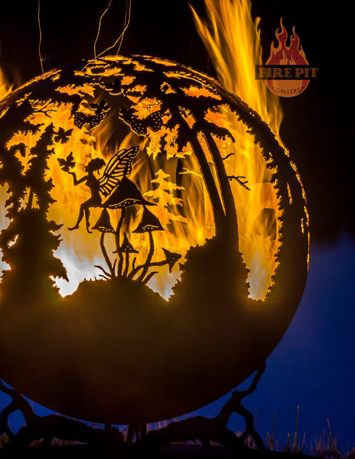 Enchanted Woods Fire Pit Sphere The Fire Pit Gallery
