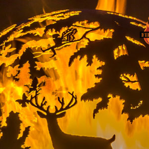 Enchanted Woods Fairy Fire Pit Sphere 03 - The Fire Pit Gallery