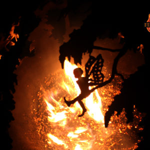 Enchanted Woods Fairy Fire Pit Sphere 04 - The Fire Pit Gallery
