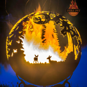 Enchanted Woods Fairy Fire Pit Sphere 05 - The Fire Pit Gallery