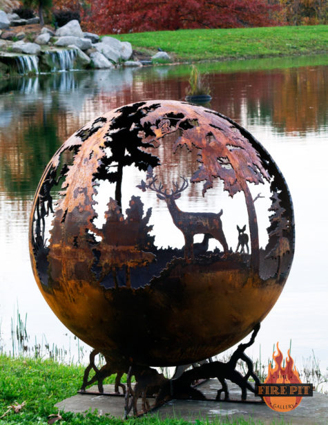 Enchanted Woods Fairy Fire Pit Sphere 08 - The Fire Pit Gallery