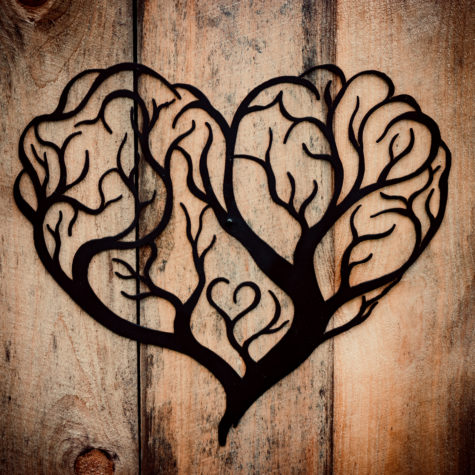 Tree of Love Wall Art Sign