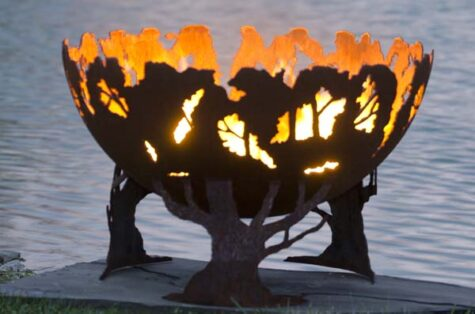 forest fire pit bowl