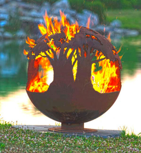 tree of life firepit