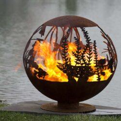 red lake firepit