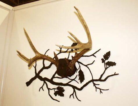 oak branch antler mount kit