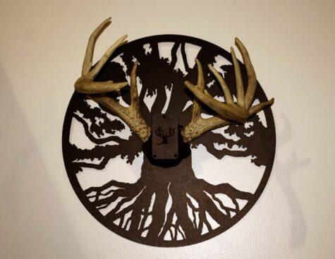 tree of life antler mount